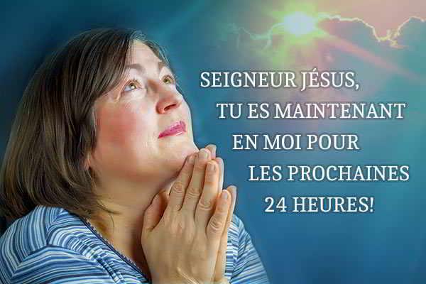 Puissante prière du matin au Seigneur Jésus à faire au réveil ou avant le travail