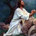 Jésus écoute son père