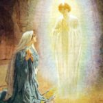 Marie et l'ange